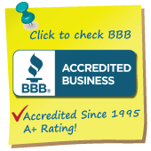 See our BBB Accredited A+ rating