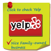 Click to see our 5 Star Yelp Ratings